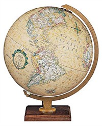 "12"" Illuminated Carlyle Globe"