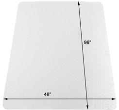 "48"" x 96"" Low Pile Carpet Chair Mat"