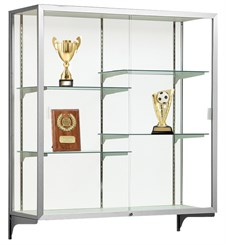 Champion Aluminum Frame Wall Mount Display Cases