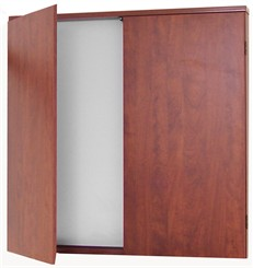 Cherry Laminate Presentation Cabinet