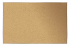 4'H x 5'W Cork Bulletin Board