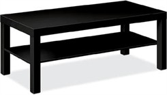 Black Laminate Coffee Table