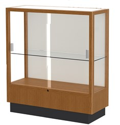 Counter Height Locking Display Case