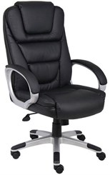 Contoured LeatherPlus Office Chair