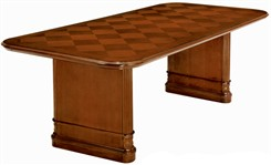 Antigua 8' Wood Veneer Conference Table