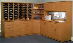 Custom Mail Center Furniture & Sorting Systems