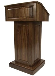 Counselor Solid Wood Lectern