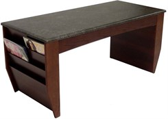 Coffee Table w/12 Magazine Pockets