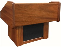 C.E.O. Solid Wood Tabletop Lectern