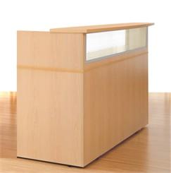 Custom Size Linear Reception Desk - 5' Width
