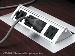 Custom Power Module w/2 Power outlets, 2 open ports