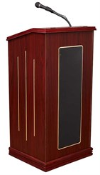 Deluxe Lectern with Sound System