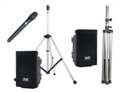 Deluxe Portable Sound System Package