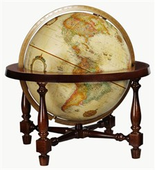 "12"" Colonial Desktop Globe"