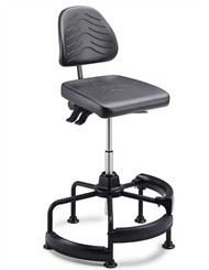 Deluxe Task Master Industrial Stool