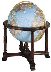 """32"""" Illuminated Diplomat Globe"""