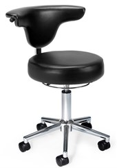 "Doctor's Stool with 18-3/4""H to 22-3/4""H Seat"