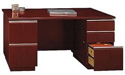 """Double Ped Desk 60"""""""