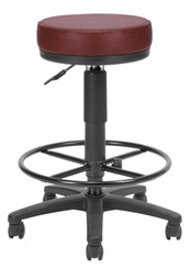 Drafting Height Stool with Antimicrobial Vinyl
