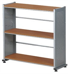 Steel Panel Bookcases in 3 Sizes