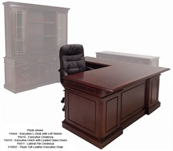 English Cherry Traditional Office Furniture Series