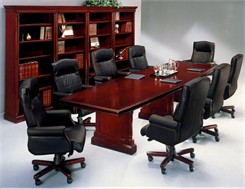 English Cherry Traditional Conference Tables - 8' Table - See Other Sizes