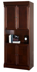 Mount View Enclosed Bookcase