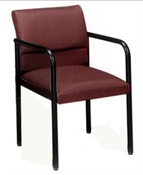 Ergo Back Guest Chair 4 Post in Standard Fabric or Vinyl