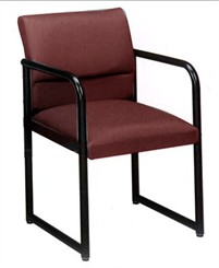 Ergo Back Guest Chair in Standard Fabric or Vinyl