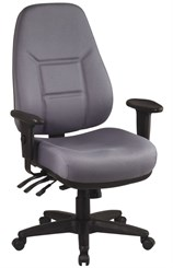 High Back Multi Function Ergonomic Chair with Ratchet Back Height