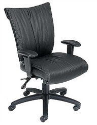 Euro Adjustable Managerial/Conference Chair