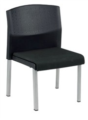 Euro Reception Armless Chair