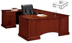 """Executive Corner """"U"""" Desk"""
