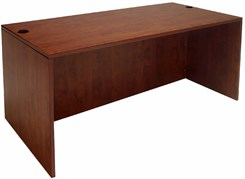 Cherry Executive Desk Shell