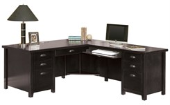 L-Shaped Executive Desk with Right Return