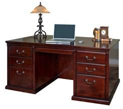 "68-1/4""W Executive Desk"