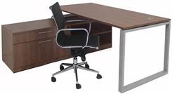 Executive Storage L-Desk
