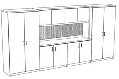 Transitions Executive Custom Wall Unit