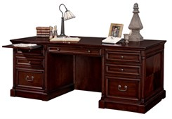 "Mount View 74""W Executive Desk"