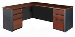 Executive L-Desk w/ Return Desk