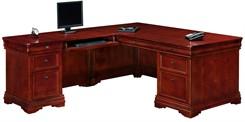 Executive L-Shaped Desk with Left Return