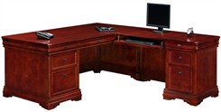Executive L-Shaped Desk with Right Return