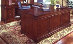 Executive U-Shaped Desk w/Left Bridge