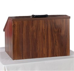 EZ Speak Folding Lectern with Carrying Case