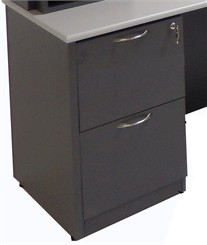 Under Desk File/File Drawer Pedestal