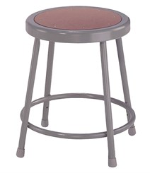 "Fixed Height Heavy-Duty Lab & Shop Stools - 18""H Stool"