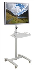 Height Adjustable Flat Panel Stand