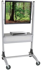 Platinum Flat Panel Stand AV Cart