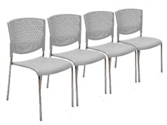 Flex Back Comfort Stack Chair