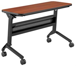 "Flip-N-Go Conference / Training Tables - 48"" x 18"" Rectangular Table"